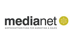 Logo unseres Partners medianet